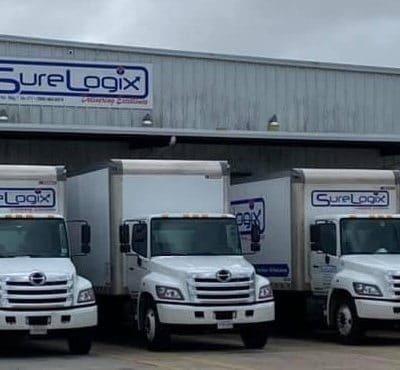 Delivery Trucks - Sure Logix LLC